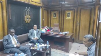 رئيس-الغرفة-التجارية-بأسوان-يستقبل-سفير-جمهورية-ناميبيا -صور-