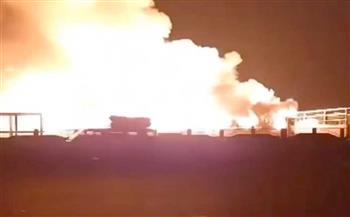 نشوب-حريق-هائل-بمصنع-للكيماويات-بالمنطقة-الاستثمارية-بالإسماعيلية