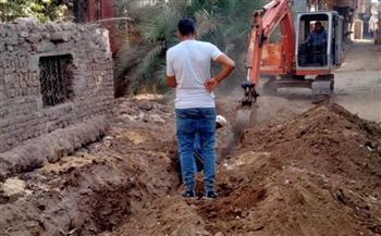 استمرار-أعمال-التطوير-والمشروعات-في-منطقة-المريج-بالقليوبية- -صور-