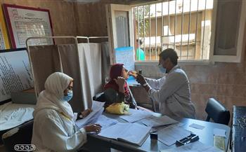 تقديم-الخدمات-الطبية-والعلاجية-لـ--مواطنا-خلال-قافلة-طبية-بقرية-بني-سمرج-في-سمالوط-بالمنيا