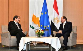 الرئيس-القبرصي-يشيد-بتطابق-المواقف-مع-مصر-واليونان