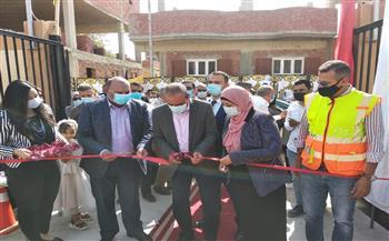 محافظ-الإسماعيلية-يفتتح-مشروع-الصرف-الصحي-بقرى-أبو-سلطان- -صور