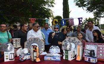 توزيع-جوائز-المسابقة-الدينية-بجامعة-قناة-السويس- صور