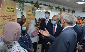 محافظ-القليوبية-ورئيس-جامعة-بنها-يشهدان-احتفالية-تكريم-طلاب-المبادرة-الرئاسية-;صنايعية-مصر;- -صور