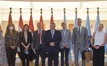 محافظ-البحر-الأحمر-يستقبل-وفدًا-دبلوماسيًا-من--دولة-لزيادة-الرحلات-السياحية-|صور