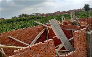 أخبار-كفرالشيخ-التصدى-لمخالفات-البناء-على-الأراضي-الزراعية-وإزالتها-بدسوق-|صور--