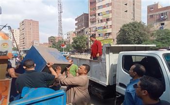 غلق-مقهيين-في-حملة-لحي-بولاق-الدكرور-|صور
