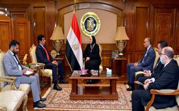 وزيرة-التجارة--تستقبل-السفير-القطري-بالقاهرة-لبحث-سبل-تنمية-وتطوير-العلاقات-الاقتصادية-والتجارية-والاستثمارية-