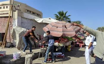 أخبار-بورسعيد-استمرار-أعمال-إزالة-الإشغالات-والتعديات-بالأحياء-|-صور-
