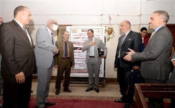 افتتاح-المقر-الجديد-لمكاتب-أعضاء-هيئة-التدريس-بكلية-الحقوق-جامعة-المنصورة-|-صور-