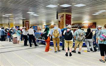 انطلاق-أولى-رحلات- مصر-للطيران -بين-شرم-الشيخ-والأقصر-بعد-توقف--سنوات-|-صور