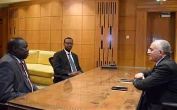 أسبوع-القاهرة-للمياه|-;عبدالعاطي;-يلتقي-نظيره-لجنوب-السودان-لتعزيز-التعاون-المائي