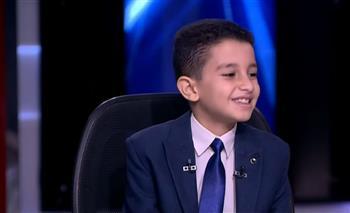 جد-الطفل- أحمد-تامر -حافظ-القرآن-الكريم-مكالمة-الرئيس-السيسي-فرحت-قلوبنا-وجعلت-يومنا-عيدًا- -صور