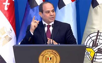 الرئيس-السيسي-مصر-ماضية-في-البناء-والتنمية-في-جميع-مناحي-الحياة-
