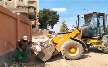 حملات-لرفع-كفاءة-النظافة-بالشوارع-في-حي-السيدة-زينب