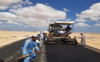 ربط-التجمعات-البدوية-بمطروح-برصف-الطرق-الرئيسية-|-صور-