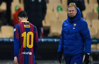 كومان يعلق على خبر تسريب عقد ميسي مع برشلونة ويطالب برد رادع