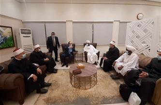 وزير الأوقاف السوداني يُقيم مأدبة عشاء للترحيب بأئمة وواعظات مصر| صور