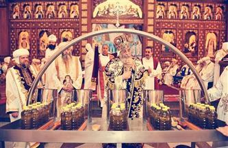 الكنيسة الأرثوذكسية تعلن موعد صنعها زيت الميرون للمرة الـ40 في تاريخها |صور