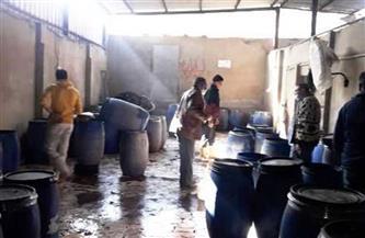 ضبط ٢٦ طن مخللات بمصنع مواد غذائية بدون ترخيص بالشرقية