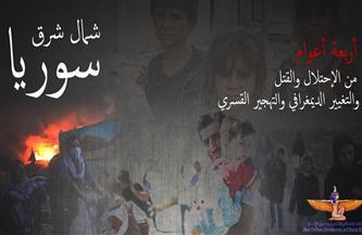 """مؤسسة ماعت تطلق حملة """"إلكترونية"""" لدعم ضحايا التدخل التركي في شمال شرق سوريا"""