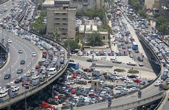 كثافات مرورية بمحاور العاصمة وتكثيف الخدمات أعلى أكتوبر وصلاح سالم