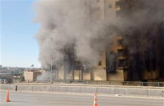 رئيس النيابة الإدارية يفتح تحقيقًا عاجلًا حول حريق مخزن أحذية الدائري