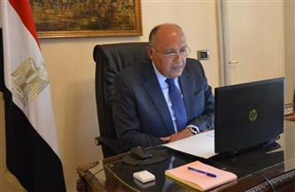 سامح شكري يبحث تعزيز التعاون الثنائي مع وزيرة الخارجية والتعاون الدولي السيراليونية|صور