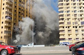 """""""الشهداء الثمانية"""".. دليل الحماية المدنية للتعامل مع حريق """"عقار فيصل"""""""