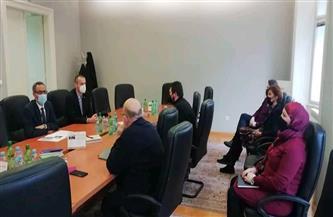 سفير مصر في سراييفو يلتقي أعضاء مجلس الحوار بين الأديان بالبوسنة
