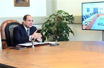 الرئيس السيسي يشدد على أهمية العمل الجماعي في إطار الأخوة العربية لاستعادة الاستقرار بدول المنطقة