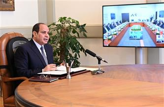 الرئيس السيسي يشارك في أعمال الجلسة الافتتاحية للمنتدى العربي الاستخباري عبر فيديو كونفرانس