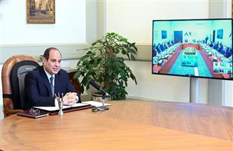 الرئيس السيسي ورؤساء أجهزة المخابرات العربية يفتتحون مقر المنتدى العربي الاستخباري   صور