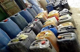 ضبط 4 آلاف لتر سولار مدعم داخل مصنع غرب الإسكندرية