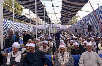 إتمام الصلح فى النزاع القائم بين عائلتين بمحافظة سوهاج