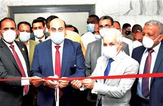 محافظ أسوان يفتتح وحدة العناية المركزة بالمستشفي الجامعى |صور