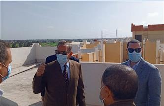 محافظ كفر الشيخ يُسلم 18 وحدة سكنية بقلين| صور