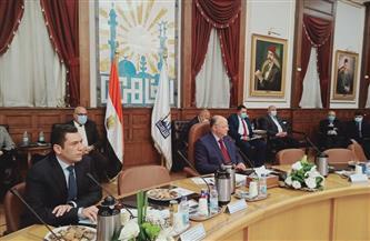 محافظ القاهرة يلتقي أعضاء مجلس النواب الجدد