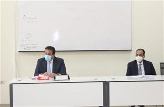 وزير التعليم العالي يوجه بالانتهاء من تحديث لوائح الدراسة| صور