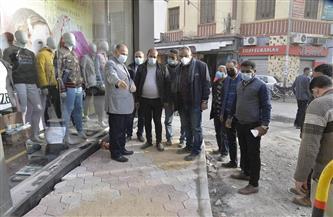 محافظ أسيوط يتفقد أعمال تطوير ورصف شوارع حي غرب|صور