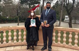 كاتبة صربية تشيد بالتعاون مع الهيئة المصرية للكتاب للترجمات المتبادلة| صور