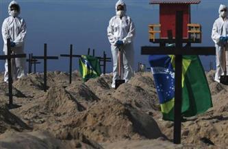 البرازيل تسجل زيادة قياسية في الوفيات اليومية بكورونا