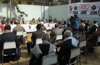 «حماة الوطن» بالجيزة تدشن حملة مكافحة سوس النخيل برعاية وزارة الزراعة   صور