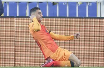 مصطفى محمد يقود هجوم جالطة سراي أمام ألانيا سبور بربع نهائي كأس تركيا