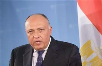 وزير الخارجية يبحث مع نظيره اليوناني بأثينا التعاون الثنائي والقضايا الإقليمية