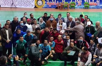 احتفالية في ختام الأنشطة الرياضية للاتحاد الرياضي للعاملين بالحكومة في الدقهلية   صور