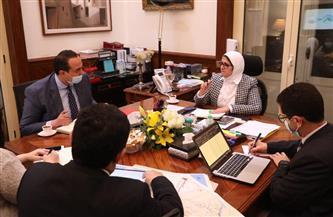 وزيرة الصحة تعقد اجتماعًا لمتابعة تنفيذ المشروع القومي لتطوير القرى بالريف المصري