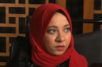 """بطلة من أصحاب الهمم """"بلا يدين"""".. رسمت ريهام سعيد في دقيقتين بقدمها  فيديو"""