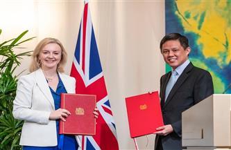 دخول اتفاق تجاري بين بريطانيا وسنغافورة حيز التنفيذ