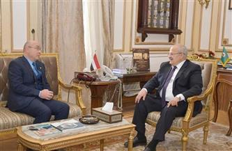 رئيس جامعة القاهرة يبحث مع سفير المغرب تعزيز التعاون الأكاديمي  صور